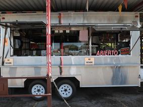 Food Truck - Remolque Acero Inoxidable Doble Eje