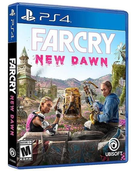 Far Cry New Dawn - Ps4 - Mídia Física, Original E Lacrada