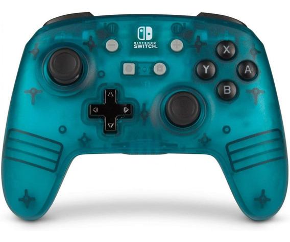 Nintendo Switch Enhanced Wireless Controller - Teal Frost