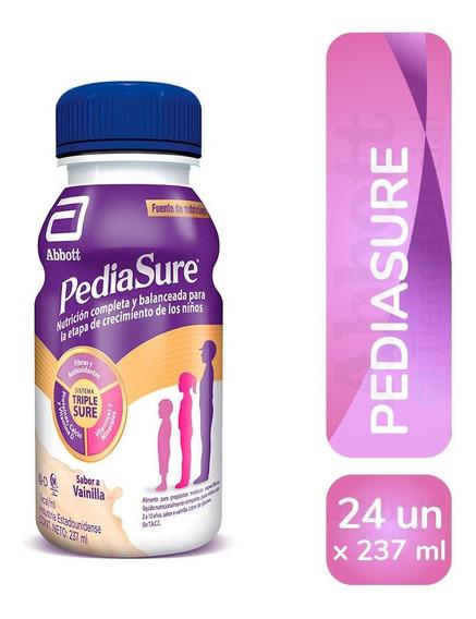 Pediasure Shake 237 Ml Vainilla Pack X 24 Unidades