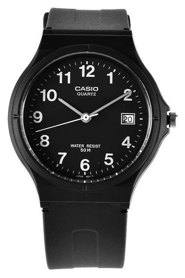 Relogio Casio Mw 59 Unisex Calend Wr50 Médio Clássic Mw59 Nf