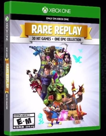 Jogo Rare Replay Original Midia Fisica Novo Lacrado Xbox One