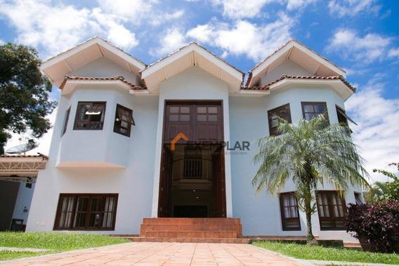 Casa Com 4 Dormitórios À Venda, 600 M² Por R$ 2.000.000,00 - Condomínio Alpes Da Cantareira - Mairiporã/sp - Ca0204