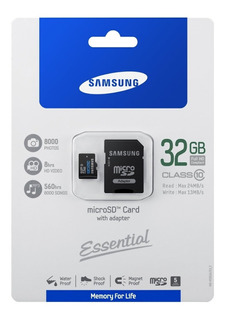 Microsd Samsung 32gb Classe 10