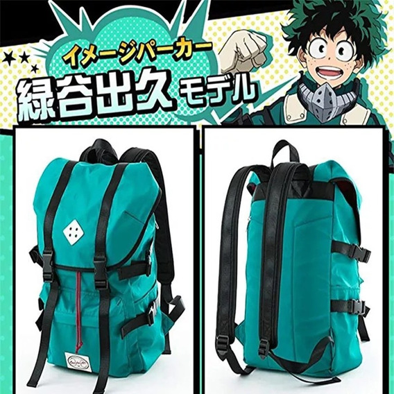 Mochila Anime Cosplay Boku No Hero Academia