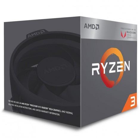 Processador Amd Ryzen 3 2200g 3.50g Am4 Vega8 Yd2200c5fbbox