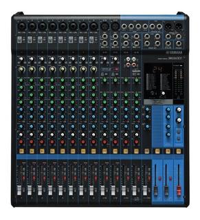Yamaha Mg16xu Consola Analógica 16 Canales Usb Efectos