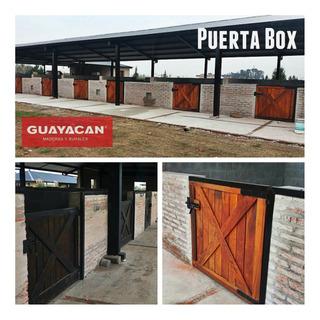 Puertas Box Caballos Cañuelas