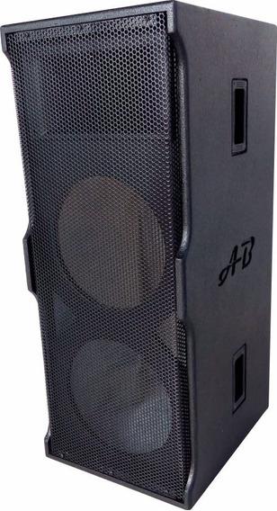Gabinete De Caixa Acústica Coluna P/ Uso Com 2x12 +ti