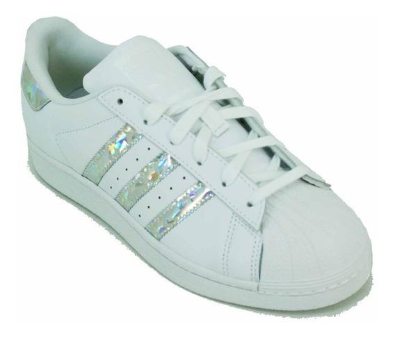 Zapatilla adidas Ori Superstar Blanco/tornasol Jr Deporfan
