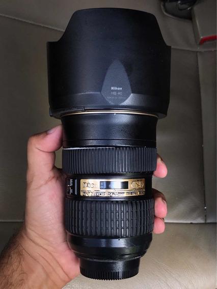 Lente Nikon 24-70 2.8g