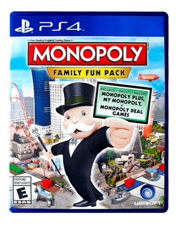 Monopoly Family Fun Pack | Ps4 | Físico | Nuevo