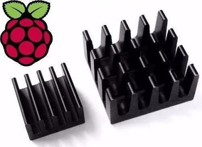 30 Dissipador De Calor P/raspberry Pi 3 Pi3 Anodizado