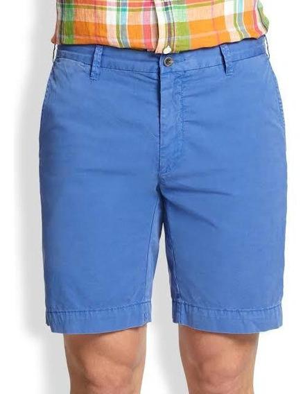 Short Polo Ralph Lauren Azul. Nuevo Y Original.