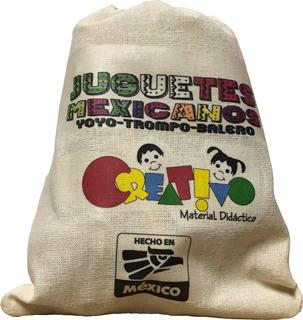 Juguetes Mexicanos - Material Didactico Madera