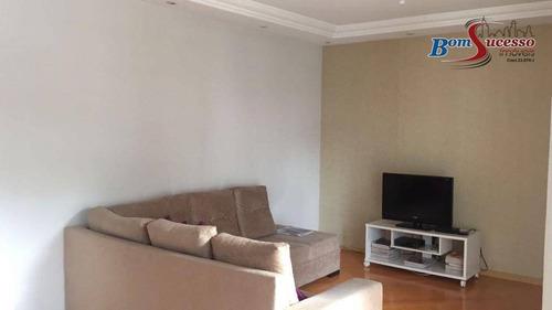 Apartamento Com 3 Dormitórios À Venda, 124 M² Por R$ 800.000,00 - Vila Mascote - São Paulo/sp - Ap1841