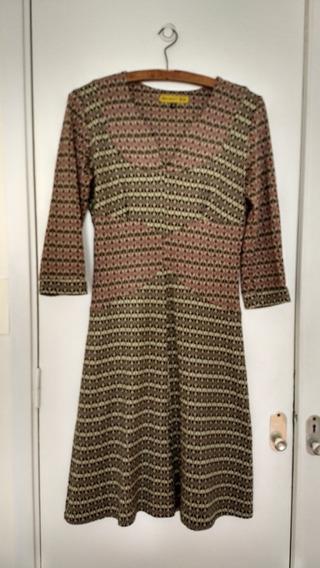Vestido De Diseño Jaquard De Algodon Benedit Bis