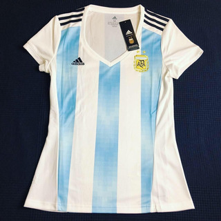Camisa Seleção Argentina Copa 2018 Home Feminina P, M, G