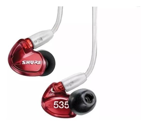 Fone In Ear Shure Se535 - 6m Garantia Lacrado 12x S/ Juros