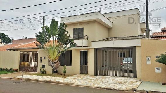Casa Com 3 Dormitórios À Venda, 129 M² Por R$ 650.000 - Residencial Terras Do Barão - Campinas/sp - Ca11596