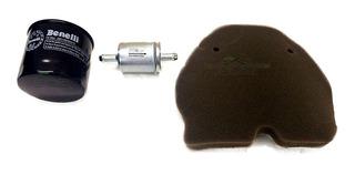 Kit Filtros Benelli 300 Aceite + Aire + Nafta Antares Motos