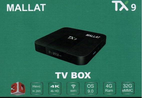 Smart Box Tx9 Mallat 4 Gb E 32 Interno Android 9.0