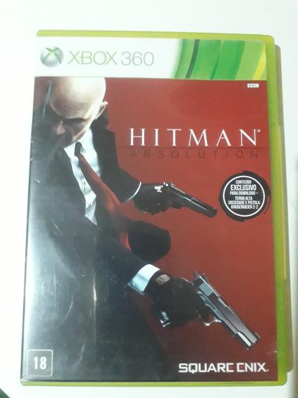 Hitman Absolution Xbox 360 Mídia Física