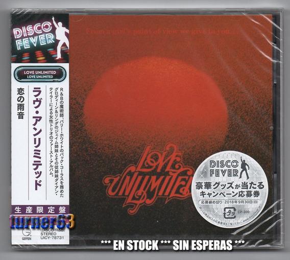 Cd ** Love Unlimited *** Disco Fever Japanese Nuevo C/ O B I