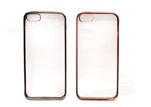Protector De Silicona Borde De Color iPhone 5 Cf-980