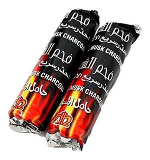Paquete Por 10 Carbones Para Narguila