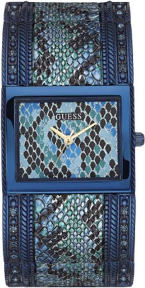 Relógio Feminino Guess Aço Azul 92572lpgtea1 Cobra
