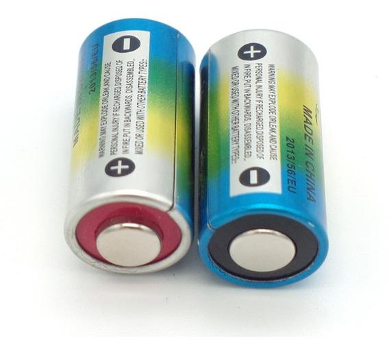 2 Pilha Bateria Alcalina Coleira 6v 4lr44 476a A544x