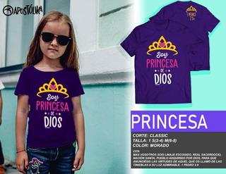 Playera Princesa Niño