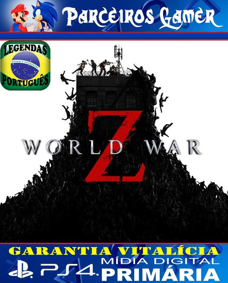 Guerra Mundial Z World War Z - Português Ps4 1 Mídia Digital