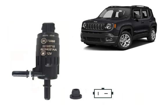 Eletrobomba Partida Frio Jeep Renegade Original + Bucha