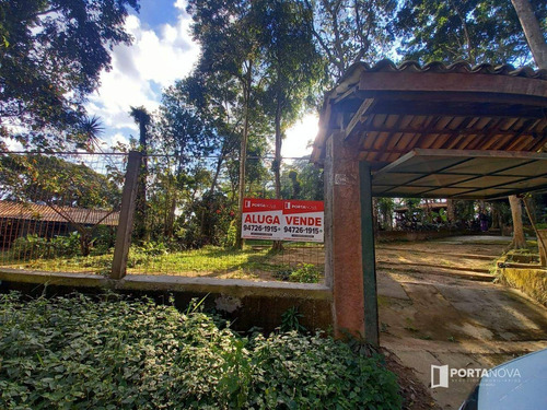 Chácara Com 6 Dormitórios, 1079 M² - Venda Por R$ 650.000,00 Ou Aluguel Por R$ 4.500,00/mês - Chácaras Lydia - Embu Das Artes/sp - Ch0021
