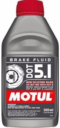 Fluído Freio Motul Dot5.1 Dot 5.1 Brake Fluid - 500ml