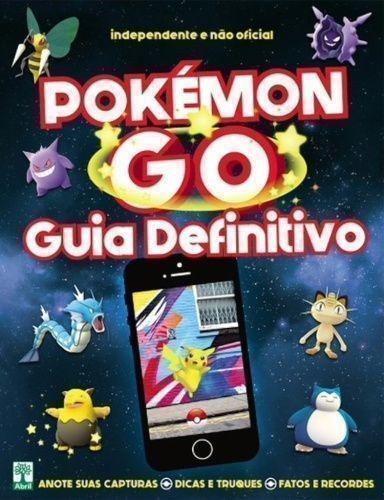 Livro Pokemon Go Guia Definitivo Abril