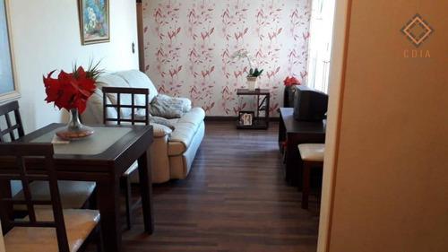Apartamento Com 3 Dormitórios À Venda, 59 M² Por R$ 255.000,00 - Vila Moraes - São Paulo/sp - Ap54214