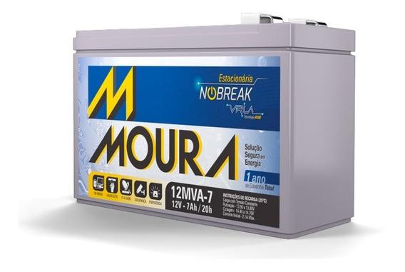Bateria Estacionária Para Nobreak Moura 12mva-18