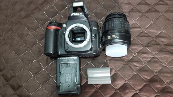 Câmera Nikon D90 + Lente 18-55 - 112.800 Cliques