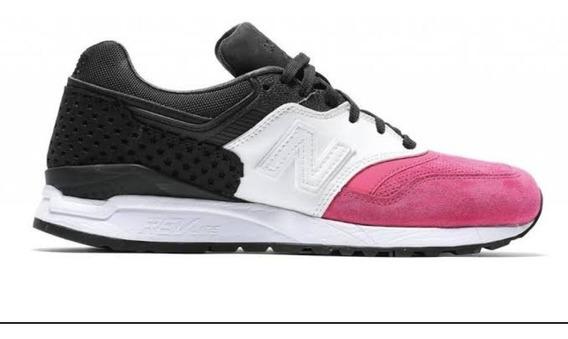 New Balance 997 Pink Withe Black