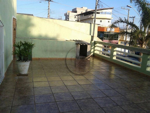 Sobrado Com 3 Dormitórios À Venda, 306 M² Por R$ 690.000 - Vila Aquilino - Santo André/sp - So0429