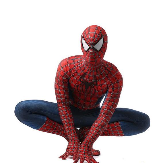 Traje De Cosplay De Spider-man Clásico Cosplay De Halloween
