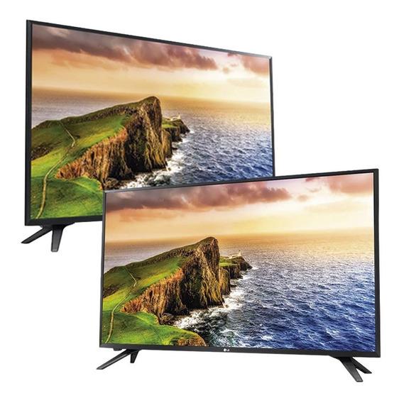 Kit 2 Tv Led 32 Lg Conversor Digital Hd 32lv300c Novo Preto