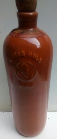Antigua Botella De Ceramica Lucas Bols