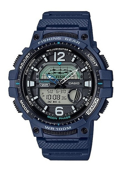 Reloj Casio Fishing Gear Wsc-1250h-2 Sports Gear