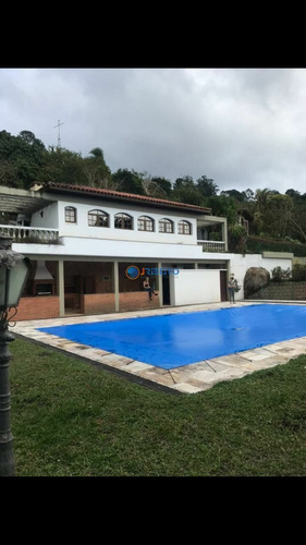 Imagem 1 de 30 de Casa À Venda 3 Suítes 10 Vagas Piscina Espaço Gourmet Quadra Poliesportiva, Sauna Serra Da Cantareira - Mairiporã/sp - 901376