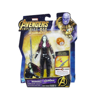 Gamora Marvel Avengers Infinity War Hasbro Gema Infinito