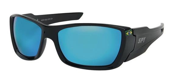 Óculos De Sol Spy 59 Trucker - Preto Brilho